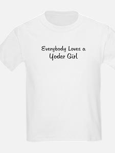 Yoder Girl Kids T-Shirt