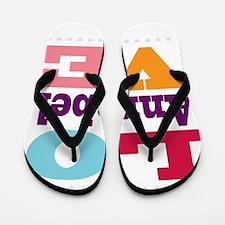 I Love Annabel Flip Flops