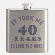 Hilarious 40th Birthday Gag Gifts Flask