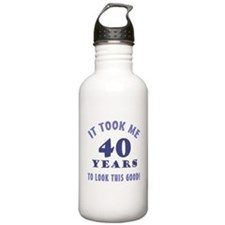 Hilarious 40th Birthday Gag Gifts Water Bottle