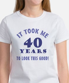 Hilarious 40th Birthday Gag Gifts Tee