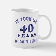 Hilarious 40th Birthday Gag Gifts Mug