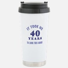 Hilarious 40th Birthday Gag Gifts Stainless Steel