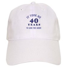 Hilarious 40th Birthday Gag Gifts Baseball Cap