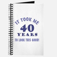 Hilarious 40th Birthday Gag Gifts Journal
