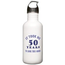 Hilarious 50th Birthday Gag Gifts Water Bottle