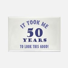 Hilarious 50th Birthday Gag Gifts Rectangle Magnet