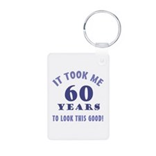 Hilarious 60th Birthday Gag Gifts Keychains