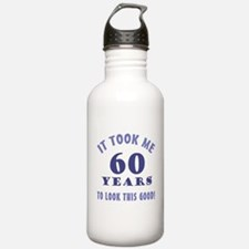 Hilarious 60th Birthday Gag Gifts Water Bottle