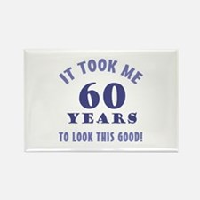Hilarious 60th Birthday Gag Gifts Rectangle Magnet