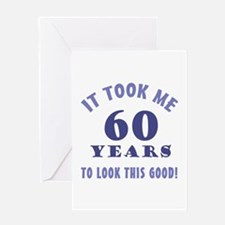 Hilarious 60th Birthday Gag Gifts Greeting Card