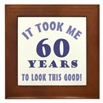 Hilarious 60th Birthday Gag Gifts Framed Tile