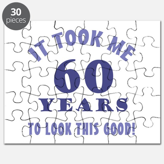 Hilarious 60th Birthday Gag Gifts Puzzle