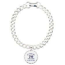 Hilarious 70th Birthday Gag Gifts Bracelet