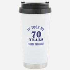 Hilarious 70th Birthday Gag Gifts Travel Mug