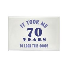 Hilarious 70th Birthday Gag Gifts Rectangle Magnet