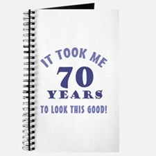 Hilarious 70th Birthday Gag Gifts Journal