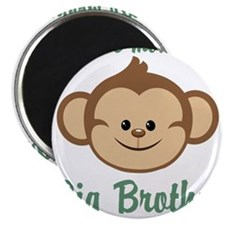 Big Brother Monkey Magnet