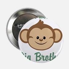 "Big Brother Monkey 2.25"" Button"