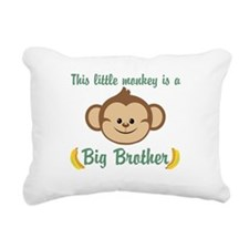 Big Brother Monkey Rectangular Canvas Pillow