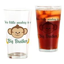 Big Brother Monkey Drinking Glass