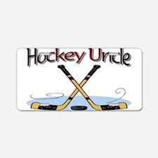 Unique Hockey dad Aluminum License Plate