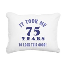 Hilarious 75th Birthday Gag Gifts Rectangular Canv