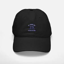 Hilarious 75th Birthday Gag Gifts Baseball Hat