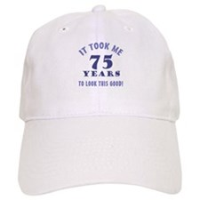 Hilarious 75th Birthday Gag Gifts Cap