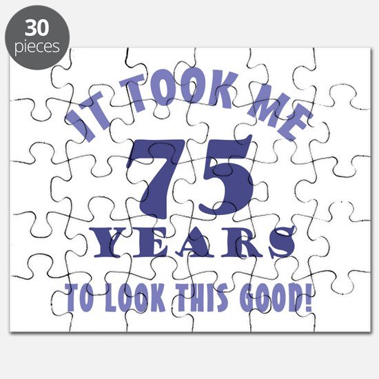Hilarious 75th Birthday Gag Gifts Puzzle