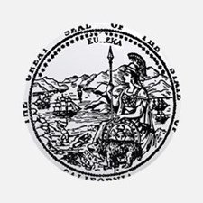 great seal Ca. Ornament (Round)