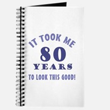 Hilarious 80th Birthday Gag Gifts Journal