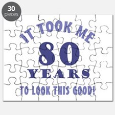 Hilarious 80th Birthday Gag Gifts Puzzle
