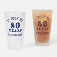 Hilarious 80th Birthday Gag Gifts Drinking Glass