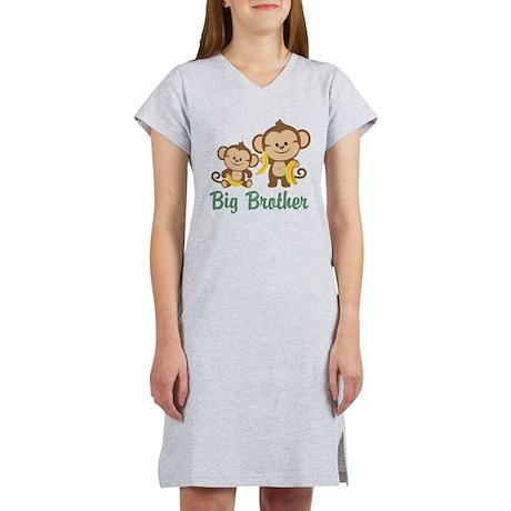 Big Brother Monkeys Women's Nightshirt