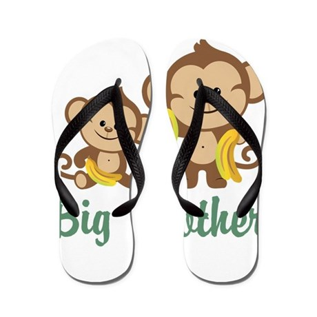 Big Brother Monkeys Flip Flops