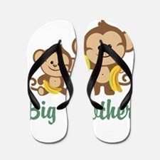 Big Brother Monkeys Flip Flops