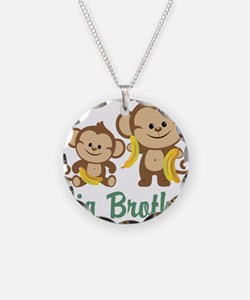 Big Brother Monkeys Necklace
