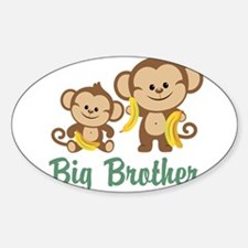 Big Brother Monkeys Decal