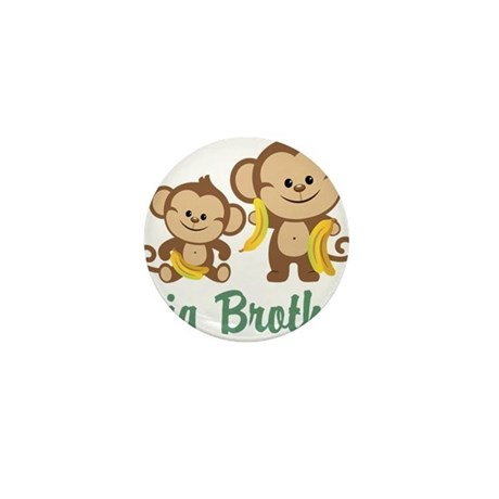 Big Brother Monkeys Mini Button (100 pack)