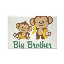 Big Brother Monkeys Rectangle Magnet (100 pack)