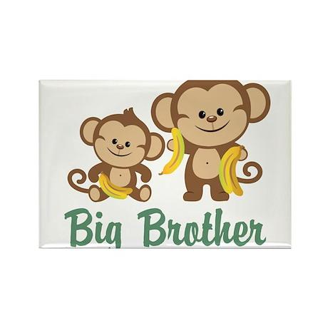 Big Brother Monkeys Rectangle Magnet (100 pack)