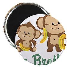 Big Brother Monkeys Magnet