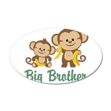 Big Brother Monkeys Wall Decal
