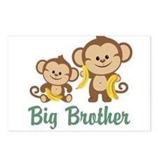 Big Brother Monkeys Postcards (Package of 8)