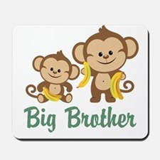 Big Brother Monkeys Mousepad