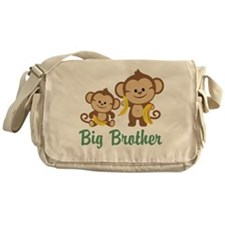Big Brother Monkeys Messenger Bag