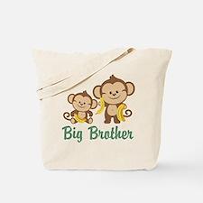 Big Brother Monkeys Tote Bag