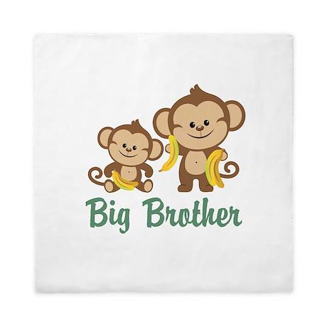 Big Brother Monkeys Queen Duvet