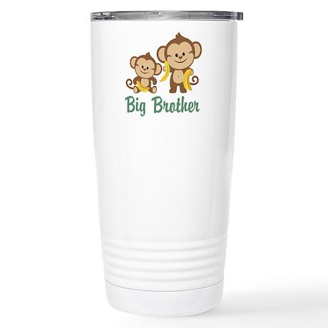 Big Brother Monkeys Stainless Steel Travel Mug